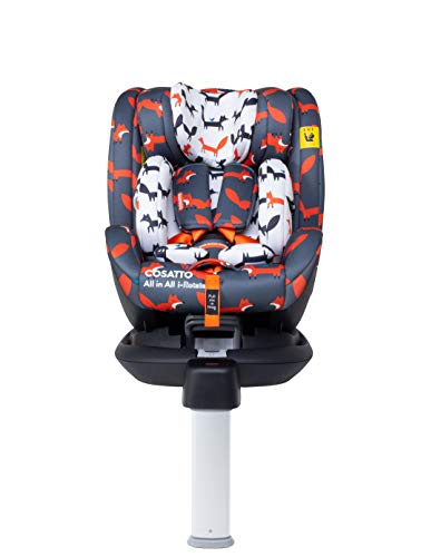 Cosatto All in All I-Rotate Car Seat – Group 0+123, 0-36Kg, 0-12 Years, Isofix, ERF, Multi-Fit -...