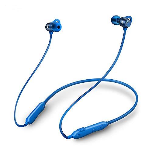 S6 Blu Magnetico Bluetooth senza fili del trasduttore auricolare di musica del telefono Neckband sportiva auricolari auricolare con microfono Noise Reduction