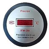 nJiaMe Temperatura del termómetro del Acuario de Agua Digital LCD Medidor Herramienta Fish Tank termómetro