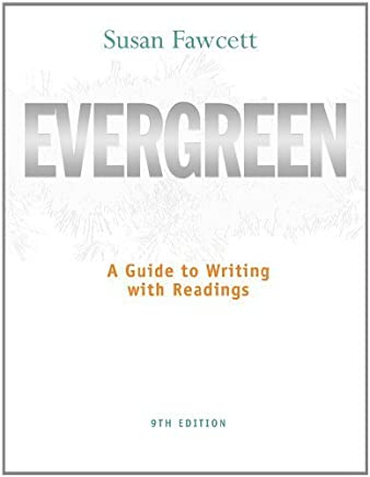 Bundle: Evergreen: A Guide to Writing with Readings, 9th + Aplia Printed Access Card + Aplia Edition Sticker 9th edition by Fawcett, Susan (2011) Paperback