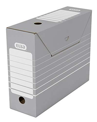 Elba 83422 - Caja de almacenamiento para archivadores (10 un