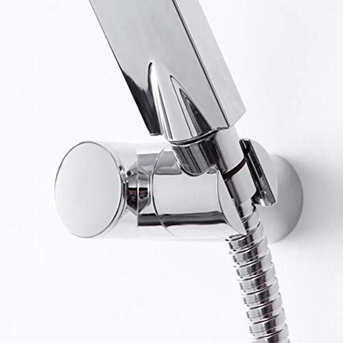 Douche support de la tête, 360 degrés de rotation cuivre ménages salle de bains douche à main à tête ronde Porte-support stands