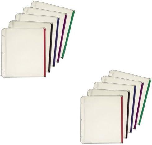 1//2 Expanding Zipper Binder Pocket