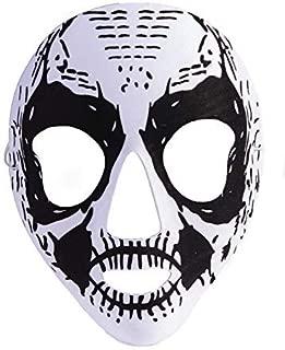 Forum Novelties Unisex-Adult's Mask-Skeleton-Black/White, Multi, Standard