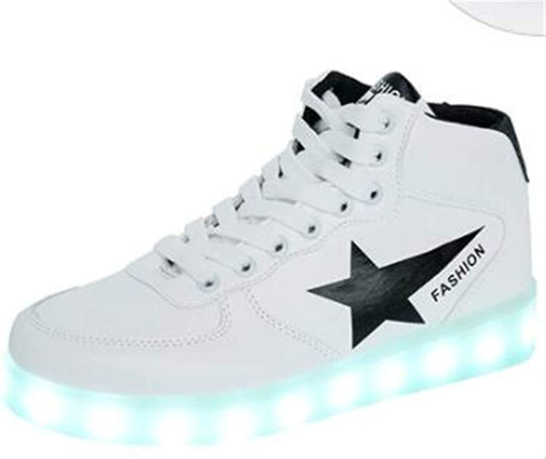 LED Luminous shoes Korean Version Star of The Luminous shoes Ghost Dance shoes