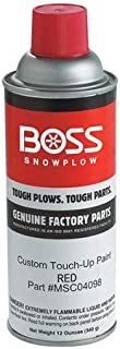 Boss Part # MSC04098 - Touch-Up Spray Paint Red 12oz
