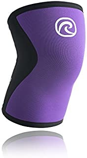 Rehband Rx Knee Support Women 7751W 5mm - X-Large - Purple - Expand Your Movement + Cross Training Potential - Knee Sleeve for Fitness - Feel Stronger + More Secure - Relieve Strain - 1 Sleeve