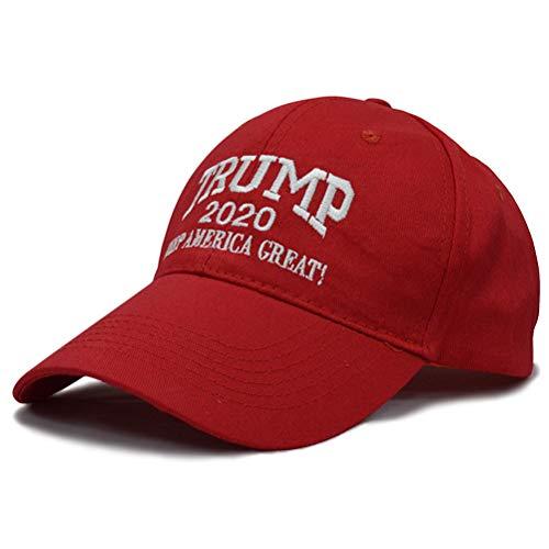 NIU MANG 1 pieza Trump 2020 gorra ajustable con la bandera de Estados Unidos Keep America Great Hat