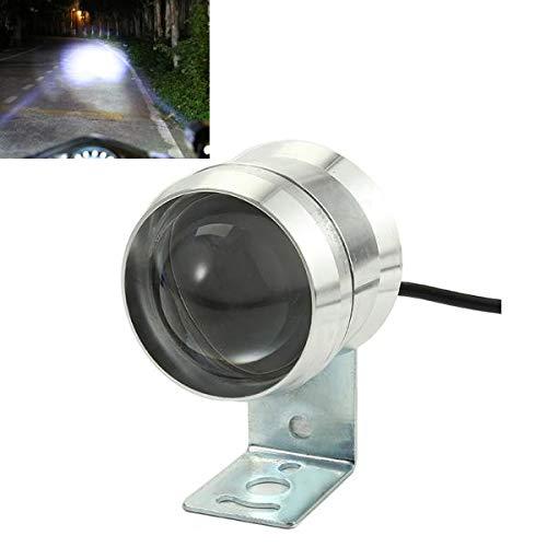 Motorrad Lichter 12-80V 10W LED Motorrad Scheinwerfer Weiß Zusatzlampe Aluminium Wasserdicht
