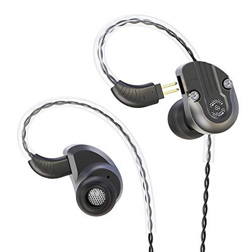 RevoNext NEX202 In-Ear-Monitor Hybrid-Technologie 1BA + 1DD-Kopfhörer