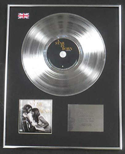 Century presentazioni–a Star is born–Limited Edition CD Platinum LP Disc–Colonna sonora originale con Lady Gaga
