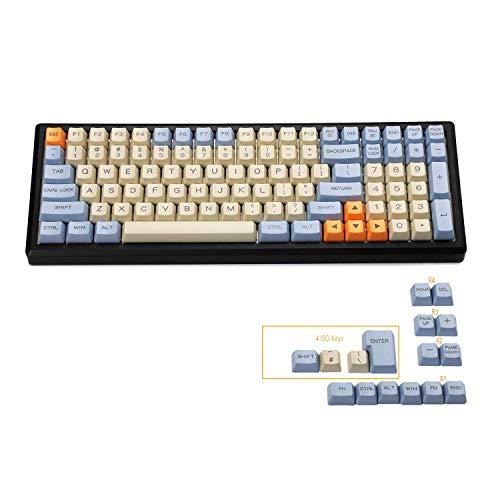 YMDK 96 84 ANSI ISO Keyset OEM Profile Dicke PBT Keycap Set für Cherry MX Mechanical Keyboard YMD96 RS96 KBD75 YMD75 FC980M