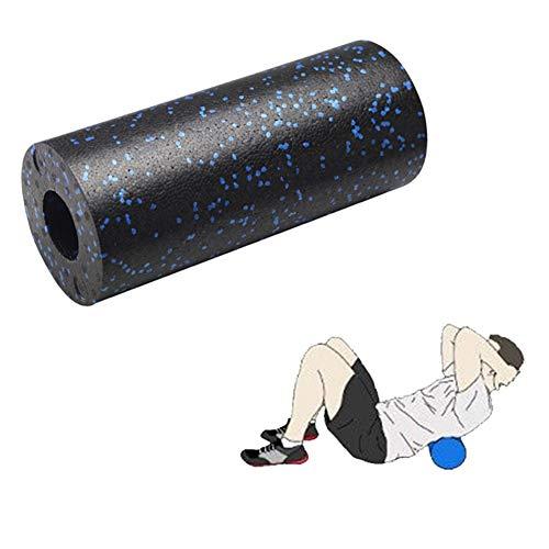 KinderALL Rulo Pilates Foam Roller Palo de Masaje de Rodillo Muscular Rodillo de Espuma de Punto de Disparo Fitness de Rodillo de Espuma de Alta Densidad Blue,33cm