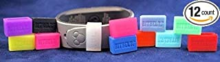 Bitbelt Jr 12 Pack one of Every Color for Disney MagicBand (Child) and Smaller Fitness trackers (Fitbit Flex,  alta,  Garmin vivosmart)