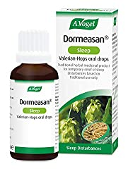 Traditional herbal medicinal product used to aid sleep Take just 30 minutes before bedtime Helps restore natural sleep Made from extracts of fresh Valerian and Hops A.Vogel Helps – since 1923