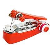 JZUO Máquinas de Coser Herramientas de Trabajo Manual Costura portátil Inalámbrico Mini Ropa de Mano Telas Máquinas de Coser Herramientas de Costura
