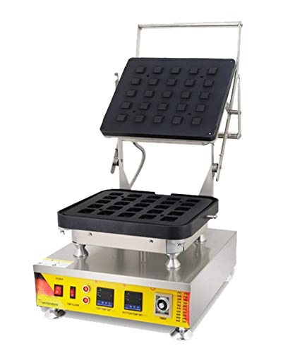Hanchen Commercial Tart Shell Machine Electric Cheese Tart Shell Machine Replacable Double Digital Custard Tart Shell Egg Maker Baker with Timing Function 0-10 minTartlets Shell Making Machine NP-817