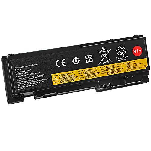 XITAI 11.1V 44Wh 3900mAh 42T4846 42T4847 81+ Ersatz Laptop Akku für Lenovo ThinkPad T420s T420si Series 0A36287 42T4844 42T4845 1143 1039 1036 1037 MEHRWEG