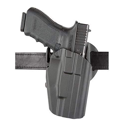 Safariland 576 7TS Gls Pro-Fit, Standard Frame, Compact Slide, Contoured 1.5' Belt Slide Holster, Plain Right Hand, Black
