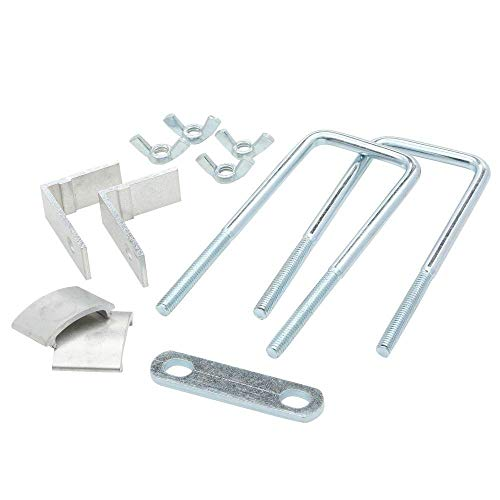Werner 97P Adjustable True Grip Stabilizer and Surface Protectors for Extension Ladders