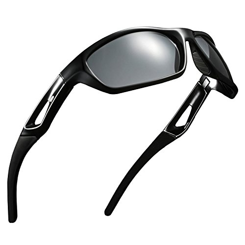 LEDING&BEST Gafas de Sol polarizadas Deportes Conducción Gafas de Sol para Hombres...
