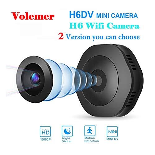 WiFi HD 1080P Micro cámara Noche versión Mini cámara de acción con Sensor de Movimiento videocámara grabadora de vídeo de Voz pequeño Camer ( Color : +32G Memory Card )
