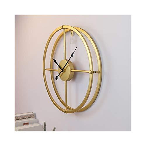 XMBT Reloj Colgante,Marcando el Reloj de Pared modernoReloj de Pared Reloj de Pared con Pilas Regalo Silencioso Decoración del hogar Sala de Estar rústica Digital Reloj de Pared silencioso