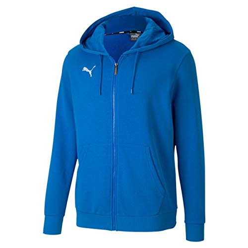 PUMA Herren teamGOAL 23 Casuals Hooded Jac Pullover, Electric Blue Lemonade, 3XL