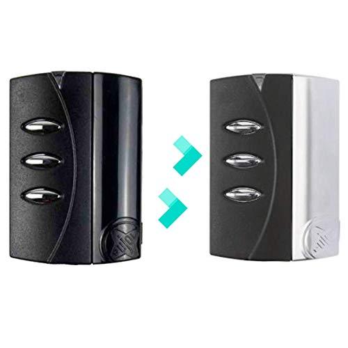 clasificación y comparación PUJOL VARIO MERCURIO es compatible con PUJOL VARIO BLACK frecuencia 433MHz Black Garage Remote para casa