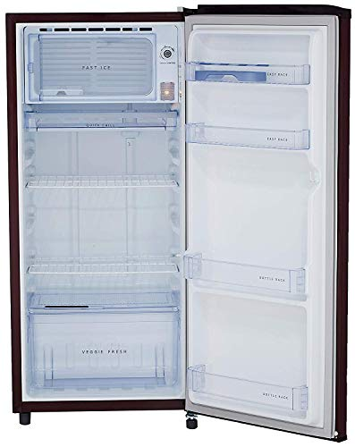 Whirlpool 190 L 3 Star Direct-Cool Single Door Refrigerator (WDE 205 CLS 3S, Wine) 6