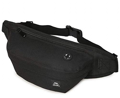 Beatus ボディバッグ ウエストポーチ メンズ レディース ボディー バッグ ポーチ ブラック コンパクト イヤホン 穴付き