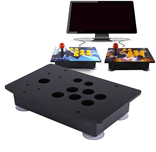 HEEPDD DIY Joysticks, Arcade Game Controller Panel und Gehäuse, Classical Game Controller DIY Set mit starken Saugnapf Kits Ersatz
