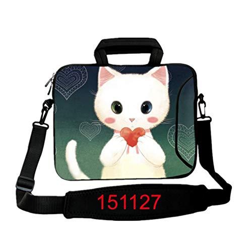 9.7 10.1 11.6 12.1 13.3 14.1 15.4 15.6 17.3 17.4Laptop Shoulder Bag Tablet Sleeve PC Case For Macbook HP Asus Acer HP Lenovo (Color : 151127, Size : 17 inch)