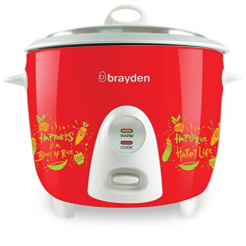 Brayden Rizo 1.5L Rice Cooker, Crimson Red