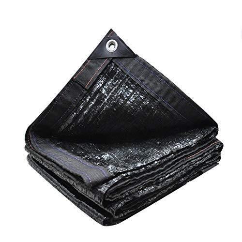 TYZXR Paño de protección Solar, Sombra Resistente a los Rayos Ultravioleta de Borde Cortado para Cubierta Vegetal, Invernadero, Granero o Perrera (Color: Negro, tamaño: 5M y Veces; 8M)