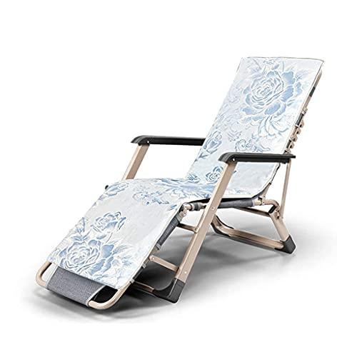 CCLLA Sillas Plegables Zero Gravity, tumbonas con tumbonas, sillón reclinable, tumbonas de Patio al Aire Libre, sillas de Playa, superancho 66 cm (Color: 1)