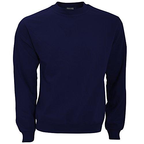 B&C Sweatshirt mit Rundhalsausschnitt XL,Marineblau