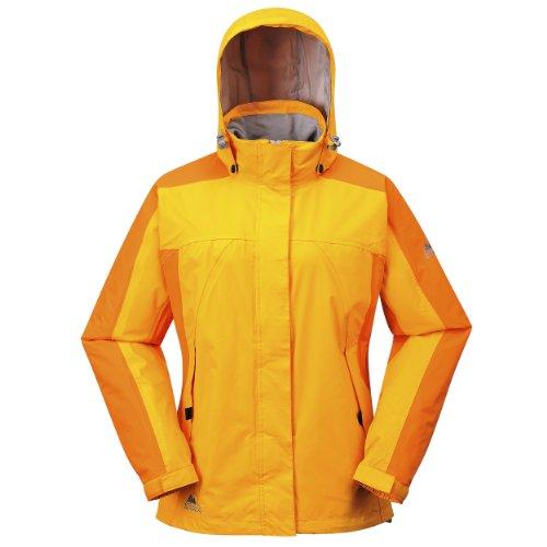 Cox Swain Damen 2-Lagen Outdoor Multifunktionsjacke Makalu div. Farben 3.000 mm Wassersäule, Colour: Orange, Size: M