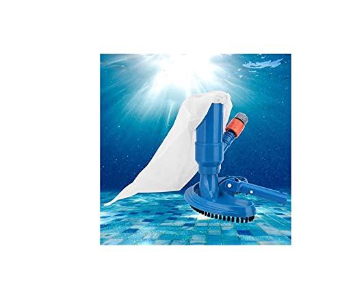 Sensail Aspirador de Piscina Portátil, Aspirador de Piscina Manual, con Accesorios de Limpiafondos de Piscinas, Aspirador de Piscina Electrico, Aspirador de Aguas Termales de Fuente de Estanque.