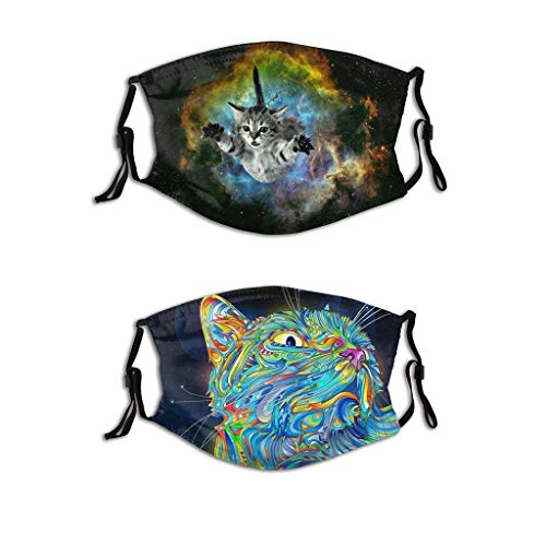 Cat Mask Women Lovely Cloth Face Mask Mens Mask Washable Reusable Funny Personalized Mask (Cat4)