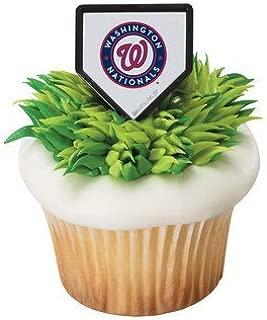 MLB Cupcake Topper Rings - Washington Nationals
