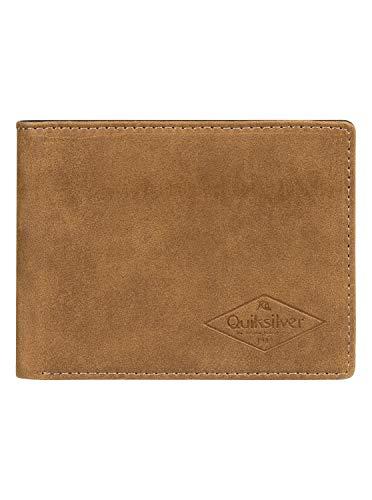 Quiksilver Slim Vintage - Bi-Fold Leather Wallet for Men - Männer