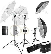 Photography Photo Portrait Studio 600W Day Light Umbrella Continuous Lighting Kit by LimoStudio, LMS103