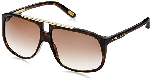 Marc Jacobs MJ 252/S JS 086 60 Occhiali da Sole, Marrone (Dark Havana/Brown SF), Unisex-Adulto