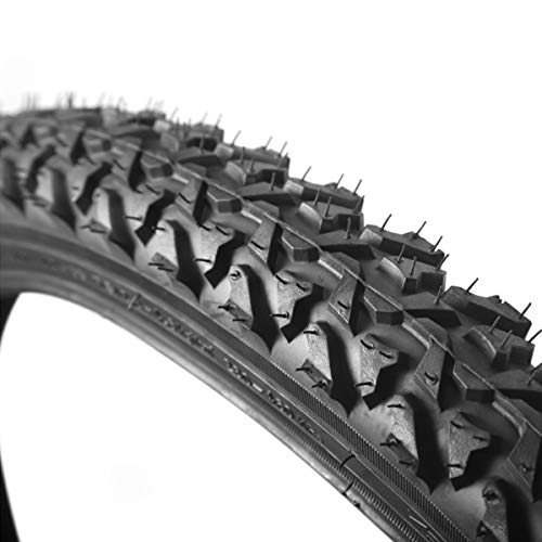 """BUCKLOS 【US Stock Mountain Bike Tire K849, Tough Wire Bead Bicycle Tire Clincher Trail MTB Tyre Puncture Resistant High Grip 24x1.95/26x1.95in AM XC Cross-Country (K849-26x1.95"""")"""