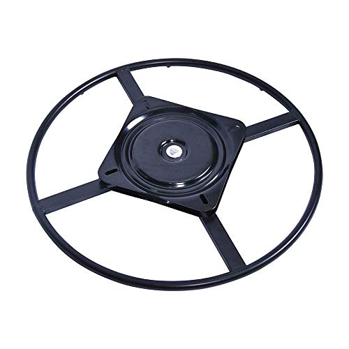 YOOGU 24inch Furniture Ring Base w Swivel Replacement with 10 Inch Plate for Recliner Chairs