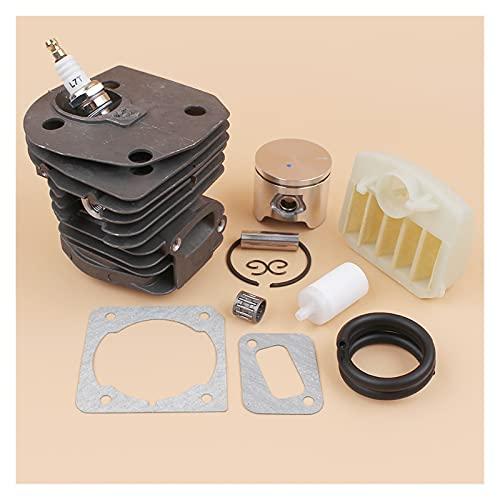 Kit de la junta de filtro de aire de cojinete de cilindro de 44 mm para For Husqvarna 353 350 356 346XP 351 PARA For JONSERED 2150 2152 2153 2149 Motosierras Reemplazo desgastado