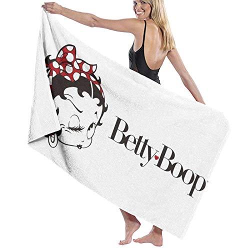 Be-tty Boo-p - Toalla súper absorbente para hombre, mujer, adolescente, toalla de baño, multiusos, para yoga, baño, hotel, gimnasio, spa