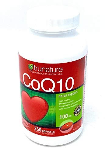 Trunature Coenzyme CoQ10 100 MG - 250 Softgels