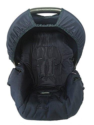 Alan Pierre Baby, Capa para Bebe Conforto, Multimarcas sem Bordado, Azul Marinho